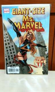 Marvel One Shot Ms Marvel Giant Size.