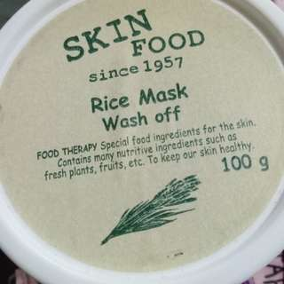 Mask treatment