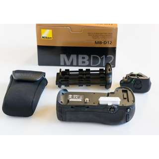 Nikon MB-D12 Battery Grip. New Stock