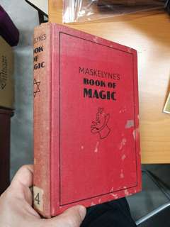 1936 Maskelyne's book of magic