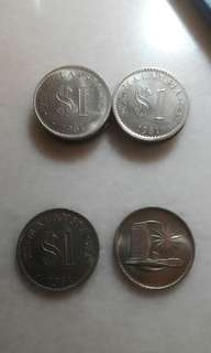 Old RM 1 Coins (Year 1981)