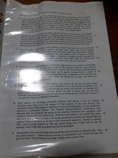 General Paper (GP) Prelim