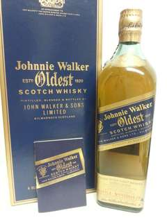 Johnnie Walker Blue Label Oldest Scotch Whisky 尊尼獲加藍牌 750ml