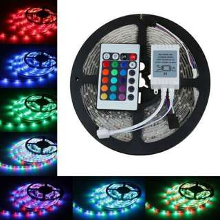 2835 RGB led strip light 5M 300SMD with Remote Controller