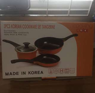 korean cooking set (peralatan dapur)
