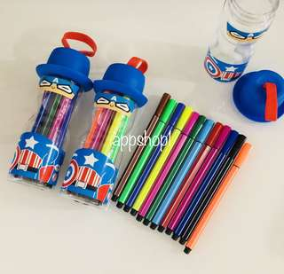 Color pen (blue) for Children goodie packages, birthday goodie favors, party goody bag gift
