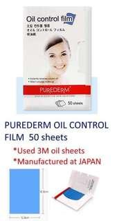 Purederm oil control film
