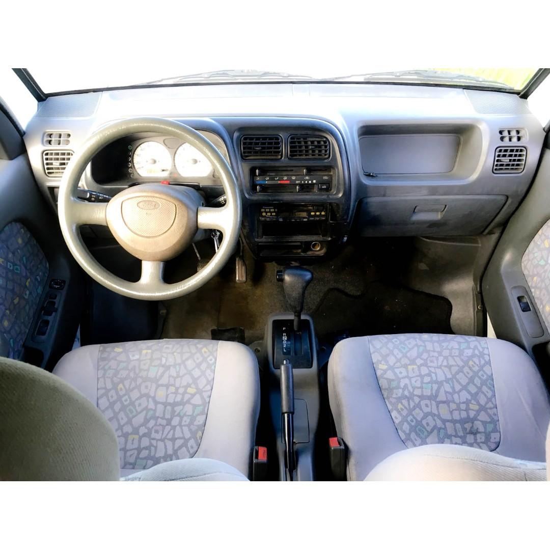2001 PRZ 自排 自排 自排 客貨兩用 車況優 冷氣強 麵包車 胖卡