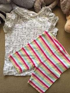 HnM T shirt + FOX pant