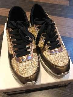 Pedder red Gold tweet sporty shoes