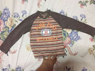 Long sleeves tops for baby boy