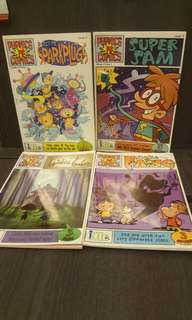 Phonics PC Comics Books 4Bks for $10