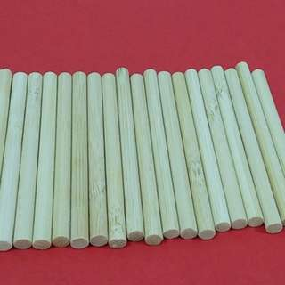 (Art and Crafts) Small Wooden Sticks 50 pieces for $8 Including free Singapore Normal Mail