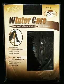 🚚 🔶蒂巴蕾 Winter Care 保暖彈性褲襪 🔶70丹尼