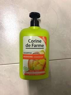 3 BTLS bundle! Corine De Farme Nourishing Shampoo (Mango)