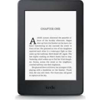 Kindle Paperwhite w backlight, wifi and touchscreen