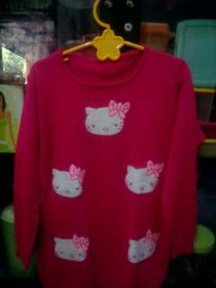 Sweater hellokitty