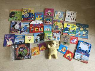 28 Children's books (26 Board books) plus one Spot puppet