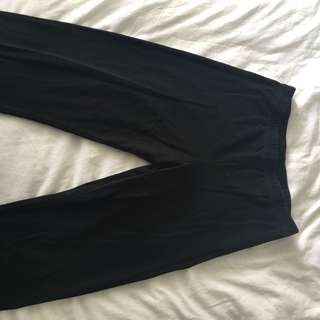 American apparel high waisted leggings large
