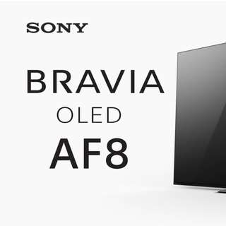 SONY 2018 model 65-inch OLED Smart TV - model: A8F