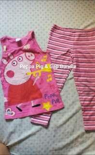 Peppa Pig & Gap Leggings Bundle