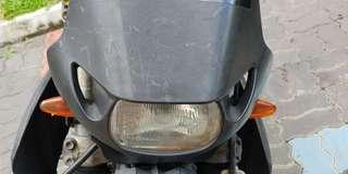 Headlight and LED taillight