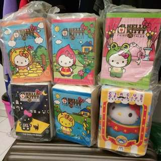 6 Hello Kitty only RM 40