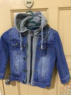 Denim Jacket with hoody