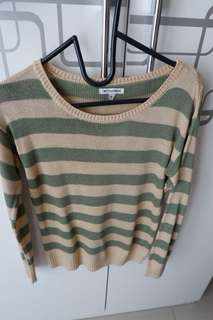 Colorbox striped long sleeve