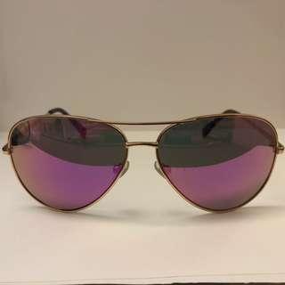 Fossil 桃紅鏡面Sunglasses