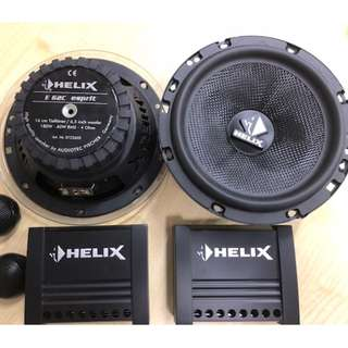 Helix E62C Esprit component speakers (fix price)
