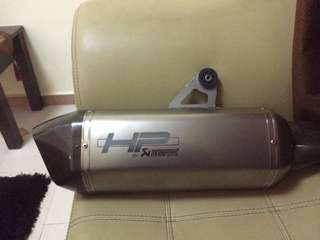 Exhaust akrapovic bmw r 1200 gsa
