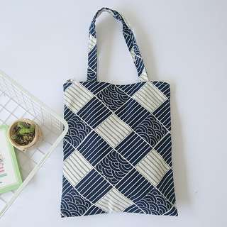 Japanese Wave Totebag