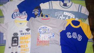 Bundle t-shirts 2-4 years old