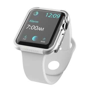 X-Doria Defense Edge Case (Silver/White) for Apple Watch