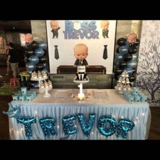 Backdrop stand for birthday dessert table, events for rental
