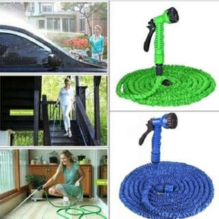HOSE Spray Gun 25 ft TV garden hose watering the flowers car washing water gun Magic hose Expanding