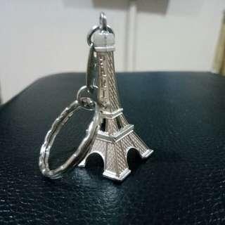 Eiffel keychain