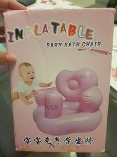 Inflatable baby bath chair BNIB
