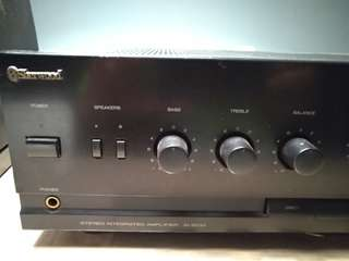 Sherwood AI 2010 intergrated Amp, Pioneer F202 tuner, Audio image speakers plus all necessary cables