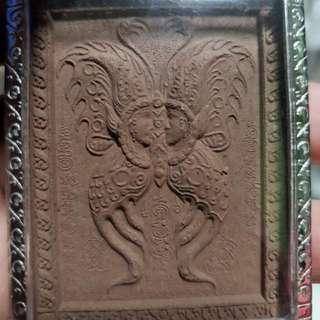 Kruba Krissana Mongdam Blk B Butterfly Amulet