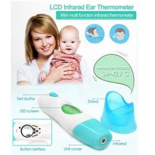 Multi-Function Infrared Digital Thermometer Temperature Ear Probe and Forehead Scan