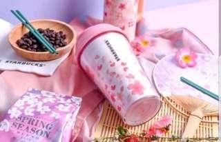 Starbucks Thumbler Sakura Japan