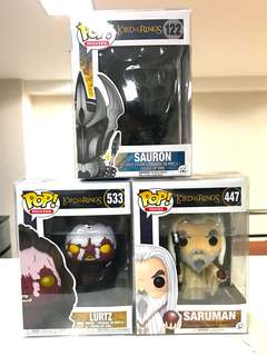 Funko Pop - Lord of the Rings Set (3pcs)