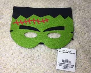 Frankenstein Felt Mask