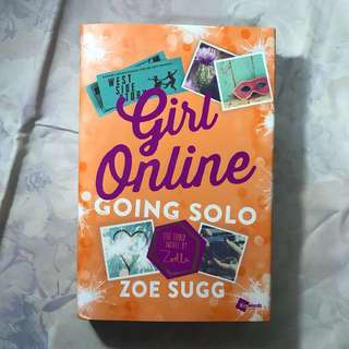 girl online going solo hardcover zoella