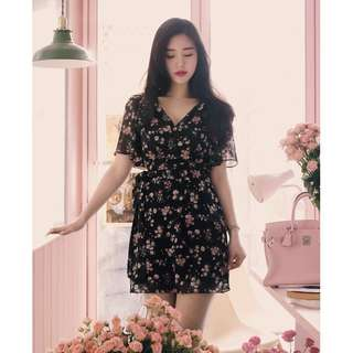 <READY STOCK > Floral Dress