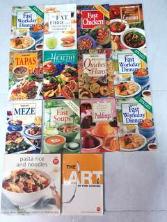 Family Circles Recipe Books