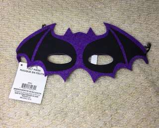Bat Felt Mask for kids