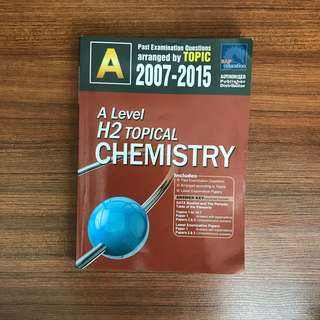 A Level H2 Topical Chemistry TYS